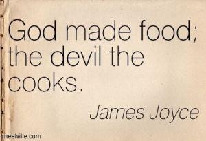 god and food